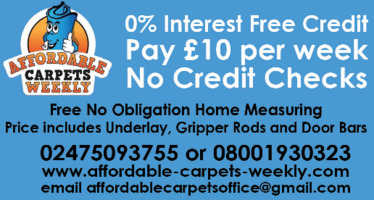 Affordable Carpets Weekly Advert