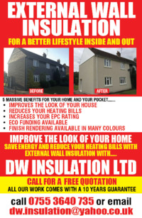 D W Insulations Ltd Advert