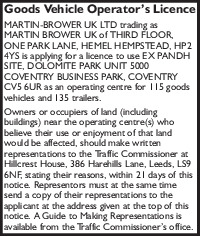 Martin Brower Uk Advert