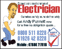 ASP Electrics Advert