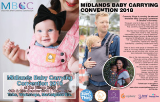 Midlands Baby Carrying Ciovention Advert