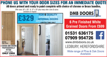 DMB Doors Advert