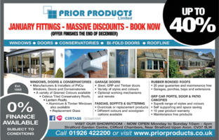 Prior Products Limited Advert