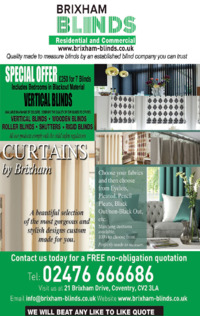 Brixham Blinds Advert