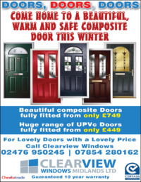 Clearview Windows Advert