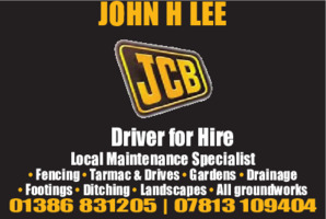 John H Lee Advert