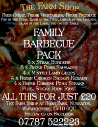 Hoar Park Farm Shop Advert