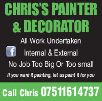 Chris Painters & Decorators Advert