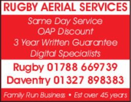 Coventry Aerial Services Advert