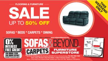 Sofas & Beyond Ltd Advert
