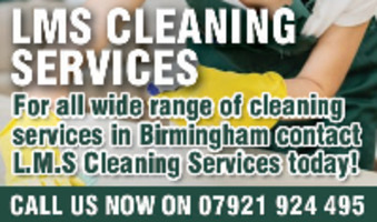 L.M.S Cleaning Services Advert