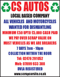 C M Waste Advert