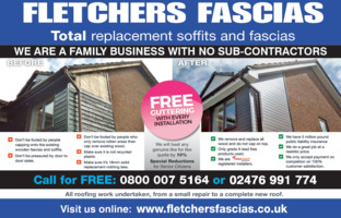 Fletchers Fascias Advert
