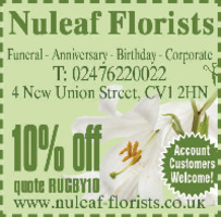 Nuleaf Florist Advert