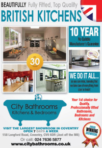City Bathrooms & Kitchens Ltd Advert