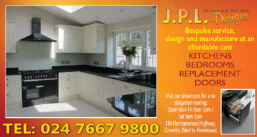 JPL Designs Advert