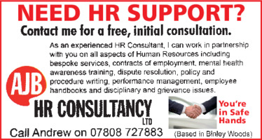 A J B - Hr Consultancy Advert