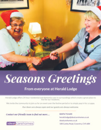 Herald Lodge Care Home Advert