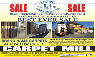 Carpet Mill Advert