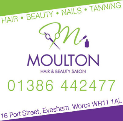 Moulton Hair & Beauty Advert