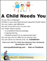 Quality Fostering Ltd Advert