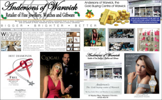 Anderson of Warwick Advert