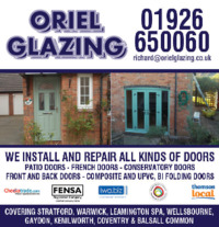 Oriel Glazing Advert