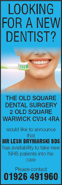 The Old Square Dental Practice Advert