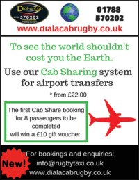 Dial A Cab Midlands Ltd Advert