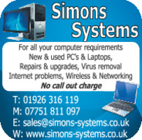 Simons Systems Advert