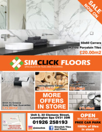 Simclick Floors Trade Centre Ltd Advert