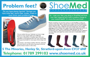 Shoe Med Ltd Advert