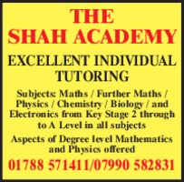 Mr M Shah Advert
