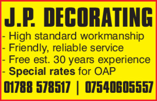 Jap Decorating Advert