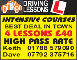 Falcon Driving School Advert