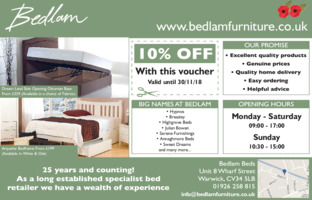 Bedlam Advert