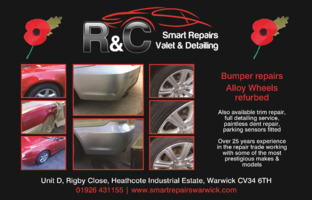 R & C Repairs, Valeting & Detailing Advert