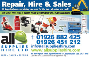 All Supplies Hire Advert