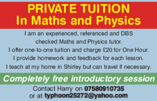 Tutoring Advert