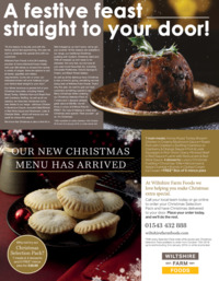 Wiltshire Farm Foods -Lichfield Advert