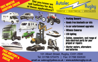 Autolec Services Rugby Ltd Advert