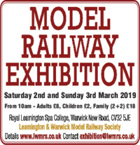 Leamington & Warwick Model Railways Advert