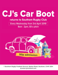 Cj's Events Warwickshire Limited Advert