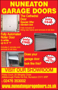 Nuneaton Garage Doors Ltd Advert