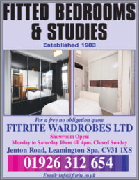 Fit Rite Wardrobes Advert