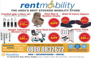 Rent Mobility Ltd Advert