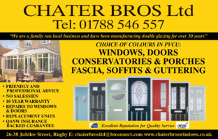 Chater Bros Windows Advert