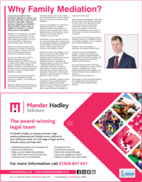 Mander Hadley & Co Advert