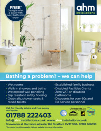 Ahm Installations Advert