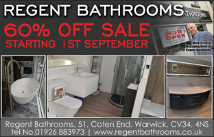 Regent Bathrooms Advert